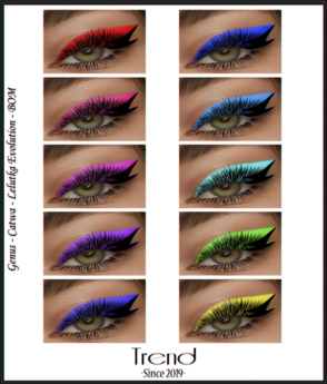 TREND - Fame Eyeshadow - Fatpack