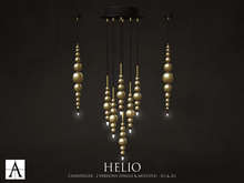 Architect. Helio Chandelier (Gold Pack)