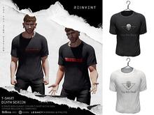 REINVENT I Death screen t-shirt I Witcher [Belleza Jake, Signature Gianni, Legacy male (original & athletic)]
