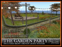 TMG - THE GARDEN PARTY - AUTUMN* Landscaped Park Venue