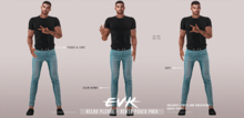[ E V K ] Relax Please - Bento Poses Pack