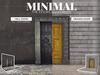 MINIMAL - Doors Backdrop FATPACK