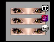 [cat] Catwa, Omega, & Standard Eye Appliers [brown]
