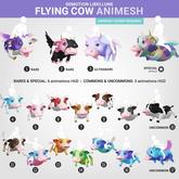SEmotion Libellune Flying Cow Animesh #4