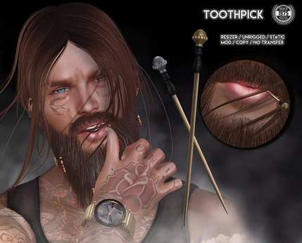 [Since1975] Toothpick (Group Gift Inworld)