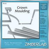 ZimberLab - Crown Moulding A  DELIVERY