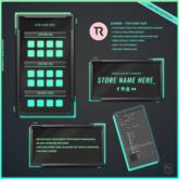 TR - Gamer Texture HUD Template