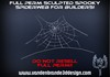 ~Full perm sculpted spiderweb + maps , see rezzed in world!