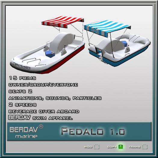 BERDAV®marine Pedalo