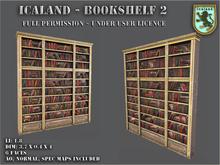 Icaland - Bookshelf 1