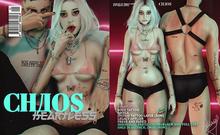 CHAOS // HE4RTLESS - Black