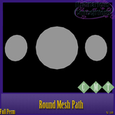 [MC]  round mesh path  [wear to unpack]