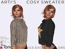 [ARTI'S] Cosy Sweater - Lara, Petite, Flat, Slink, Tonic- (3 fabrics each 24 colors)