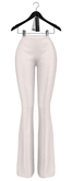 Rowne.Elson Flare Pant - White
