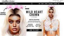 [Cinnamon Cocaine] Wild Heart Crown - Pack