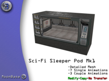 [MB3] Sci-Fi Sleeper Pod Mk1