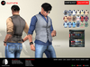 A&D Clothing - Shirt&Vest -Salvatore-  SlimPack