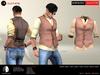 A&D Clothing - Shirt&Vest -Salvatore- Earth