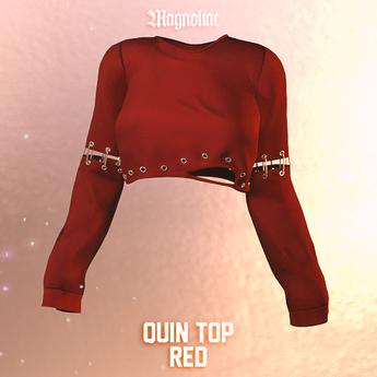 Magnoliac - Quin Top (Red)