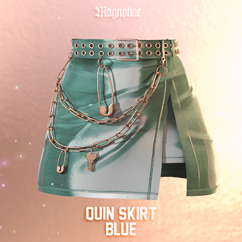 Magnoliac - Quin Skirt (Blue)