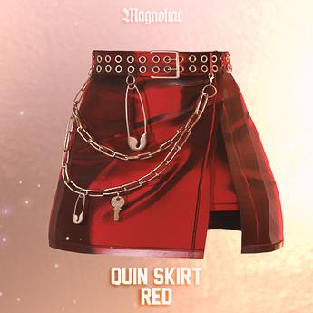 Magnoliac - Quin Skirt (Red)