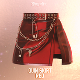Magnoliac - Quin Skirt (Red)