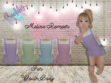 *SF*  Melina Romper Blue (Youth)