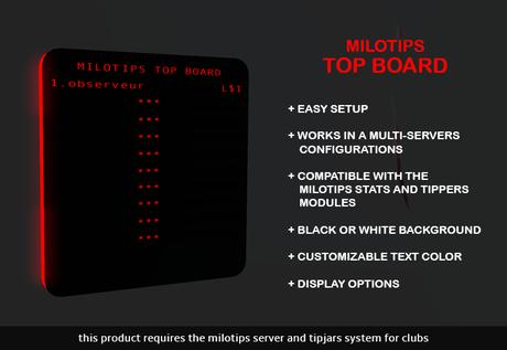 MILOTIPS TOP BOARD