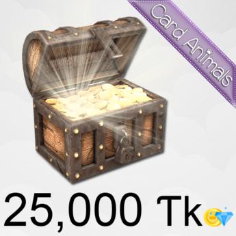 [Card Animals] Bag of Tokens (25,000) - MAX SAVINGS