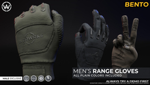 [WAZ] Tactical Range Gloves (Plain Pack) BOXED [Add/Rezz]