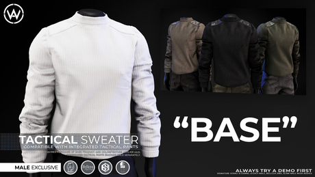 [WAZ] Tactical Sweater (BASE)