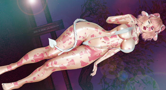 THIS IS WRONG Cowgirl shine+tattoo 3D - female pack