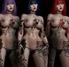 Maja Coloured Tattoo - Flower, Lace, Maitreya, Legacy, INTHIUM KUPRA, Belleza, Signature, Omega, BOM - Vezzo Ink