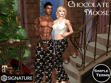 Chocolate Moose PJ's for her...and Him!