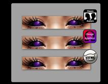 [gumball] Catwa, Omega & Standard Eyes [purple]