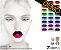 Zibska ~ Savina Lips Demo [Lelutka/Catwa/Omega/tattoo/universal tattoo BOM]