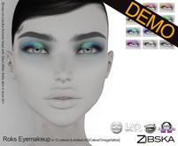 Zibska ~ Roks Eyemakeup Demo [lelutka/laq/catwa/omega/tattoo]