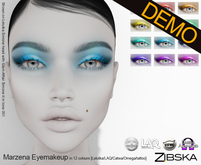 Zibska ~ Marzena Eyemakeup Demos [lelutka/LAQ/Catwa/Omega/tattoo]