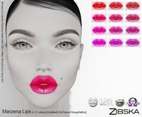 Zibska ~ Marzena Lips with Lelutka, LAQ, Catwa, Omega appliers and system tattoo layers
