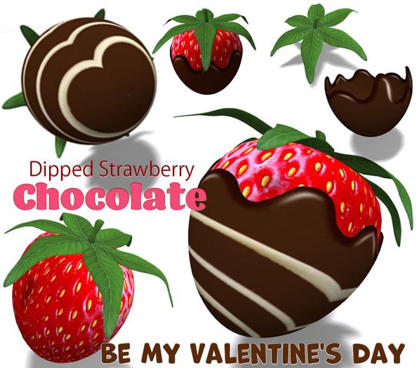 [ FULL PERM ] Be My Valentine's day /  Strawberry Chocolate