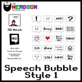 *TNB* Speech Bubble Style 1