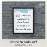 Sequel - Dance in Rain Art