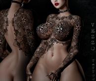 Izol Unisex Tattoo - Black, single colour, Maitreya, Legacy, INTHIUM KUPRA, Belleza, Signature, Omega, BOM - Vezzo Ink