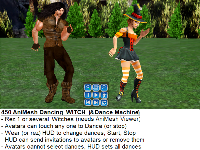 *PROMO* Ani-Mesh Dancing WITCH