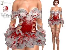 ~PP~ Sequined Ballerina Set - Bloody Shimmer