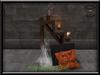 KHARGO HALLOWEEN STEP SHELF WITH ANIMATIONS