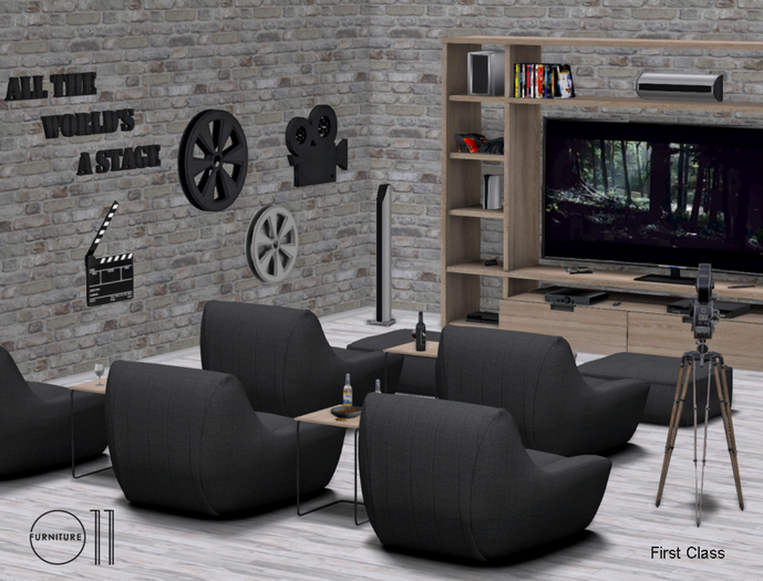 Home Theater Noir PG - 110 animations