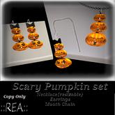 ::REA:: Scary Pumpkin Set