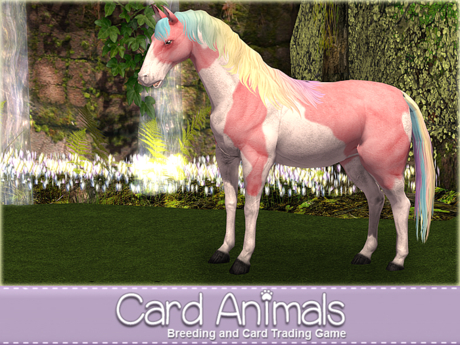 [Card Animals] Animesh Horse Breeding, Racing and Card Trading Game - Starter HUD (No Rez, No Food, No upkeep needed)