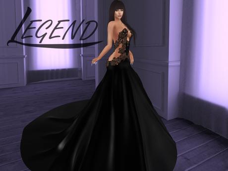 0457 ~LEGEND~EVENING DRESS *PAOLA*